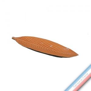 Collection SPA - Feuille palm Mandarine - L 42 cm -  Lot de 1
