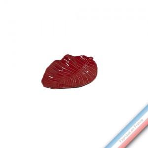 Collection SPA - Feuille xanadu Piment - L 23 cm -  Lot de 1