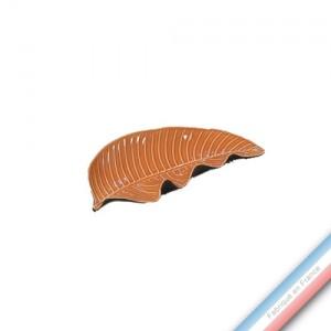 Collection SPA - Feuille 2 / Pothos Mandarine - L 27,5 - l 12 cm -  Lot de 1