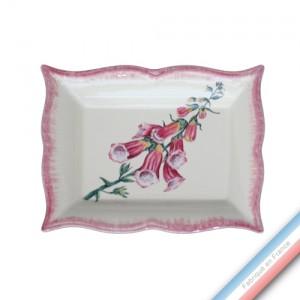 Collection ECLECTICA - Coffret vide poche rectangle Digitale rose - 21 x 17 x 3,6 cm -  Lot de 1