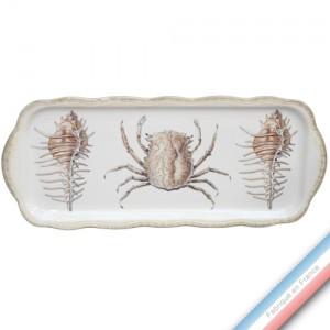 Collection ECLECTICA - Coffret plat cake mers - 40 x 17 x 2,4 cm -  Lot de 1