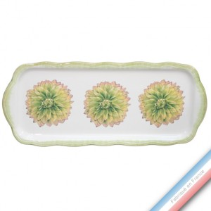 Collection ECLECTICA - Coffret plat cake Dhalia - 40 x 17 x 2,4 cm -  Lot de 1