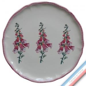 Collection ECLECTICA - Coffret plat tarte Digitale rose - 36 x 36 x 3 cm -  Lot de 1