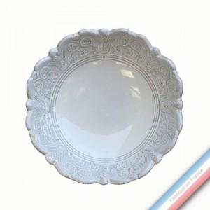 Collection BERAIN - Assiette creuse berain - Diam  20 cm -  Lot de 4