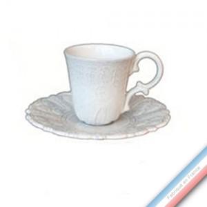 Collection BERAIN - Tasse et soucoupe thé Berain - 0,13L / 15,5cm -  Lot de 4