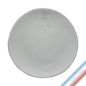 Collection HENRI IV - Assiette plate henri IV - Diam  28 cm -  Lot de 4