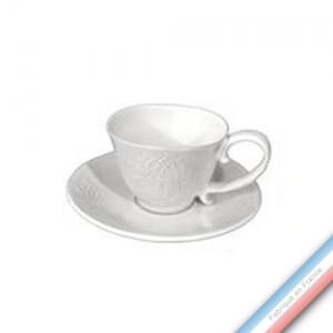 Collection HENRI IV - Tasse et soucoupe café Henri IV - 0,08L / 13 cm -  Lot de 4