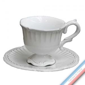 Collection BEYERLE - Tasse et soucoupe thé beyerle - 0,13L/15,5 cm -  Lot de 4