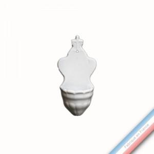 Collection CABINET CURIOSITE - Bénitier ange  - 16x8x5,5cm -  Lot de 1