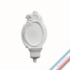 Collection CABINET CURIOSITE - Bénitier plaque 'Grand'  - 30x15x4,5cm -  Lot de 1