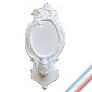 Collection CABINET CURIOSITE - Bougeoirs applique faune  - 14,5 x 31cm -  Lot de 1