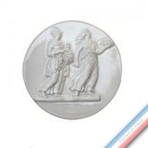 Collection CABINET CURIOSITE - Médaillon femmes TN - Diam  18,5cm -  Lot de 1