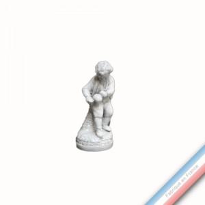 Collection CABINET CURIOSITE - Enfant au ballon  - H 12,5 cm -  Lot de 1