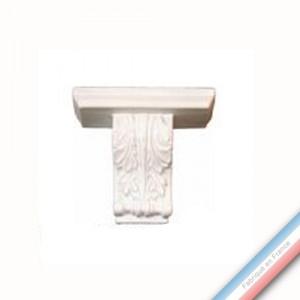 Collection CABINET CURIOSITE - Console acanthé  - 13,5 x 16 cm -  Lot de 1