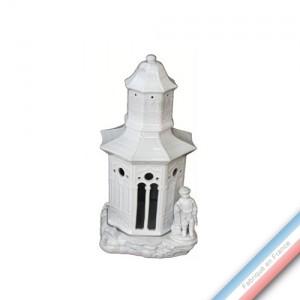 Collection CABINET CURIOSITE - Folie pagode photophore  - 14 x 26 cm -  Lot de 1