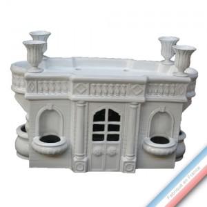 Collection CABINET CURIOSITE - Pavillon terrasse  - 41 x21 cm -  Lot de 1