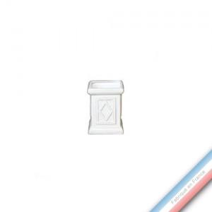 Collection CABINET CURIOSITE - Jardinière cube  - H. 8,5cm -  Lot de 1