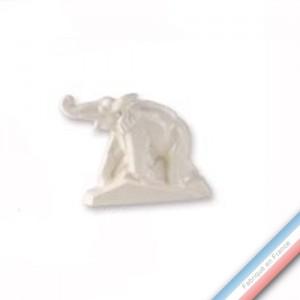 """Collection ART DECO """"1920"""" - Eléphant trompe déployée - H44 x L31 cm -  Lot de 1"""