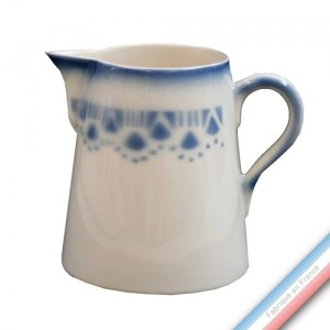"""Collection FERME """"1950"""" - Pot conique 3 Bleu - H 16 cm - 1 L -  Lot de 1"""