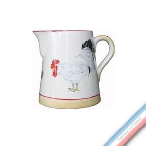 Collection COUR NORMANDE PAILLE - Pot conique 3 - H 16 cm - 1 L -  Lot de 1