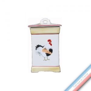 Collection COUR NORMANDE PAILLE - Pot cuisine 3 - 8 x 14 cm -  Lot de 1