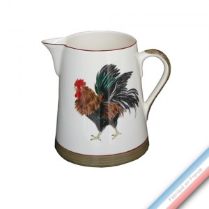 Collection COUR NORMANDE BRONZE - Pot conique 1 - H 20 cm - 2 L -  Lot de 1