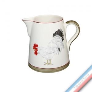 Collection COUR NORMANDE BRONZE - Pot conique 3 - H 16 cm - 1 L -  Lot de 1