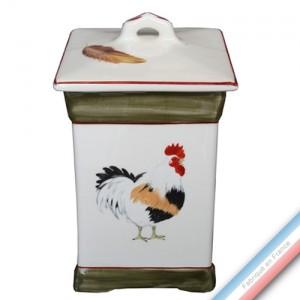 Collection COUR NORMANDE BRONZE - Pot cuisine 1 - 10 x 18 cm -  Lot de 1