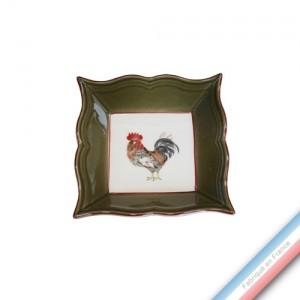 Collection COUR NORMANDE BRONZE - Vide poche carre - 12 x 12 cm -  Lot de 1
