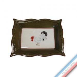 Collection COUR NORMANDE BRONZE - Vide poche rectangle - 21 x 17 cm -  Lot de 1