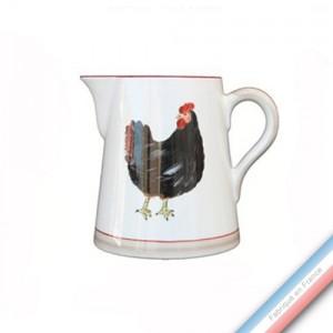 Collection BOCAGE - Pot conique 3 - H 16 cm - 1 L -  Lot de 1
