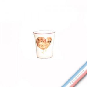 Collection BOCAGE - Coquetier - H 6 cm -  Lot de 4