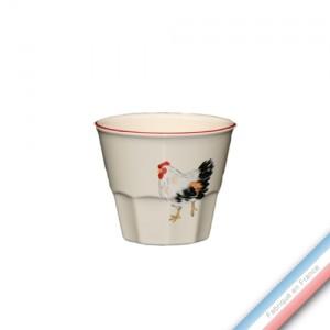 Collection BOCAGE - Pot confiture - H 8 cm - 0,2 L -  Lot de 1