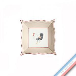 Collection BOCAGE - Vide poche carre - 12 x 12 cm -  Lot de 1