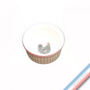 Collection BOCAGE - Ramequin - Diam  8,5 cm -  Lot de 4