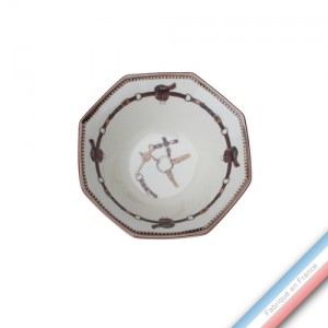 Collection CHANTILLY - Assiette Calotte - Diam  16,5 cm -  Lot de 4