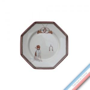 Collection CHANTILLY - Assiette pain - Diam  16.5 cm -  Lot de 4