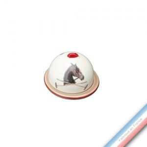 Collection CHANTILLY - Confiturier 'Petit' - H 8 - Diam 9 cm -  Lot de 2