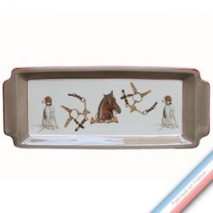 Collection CHANTILLY - Plat cake - 38 x 15 cm -  Lot de 1