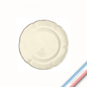 Collection MAINTENON PATINE VANILLE - Assiette pain - Diam  15.5 cm -  Lot de 4