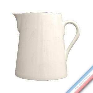 Collection MAINTENON PATINE VANILLE - Pot conique 1 - H 20 cm - 2 L -  Lot de 1