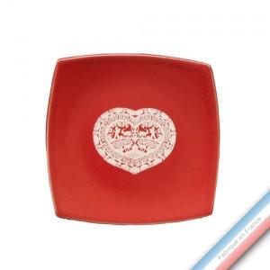 Collection MEGEVE - Assiette pain - Diam  15.5 cm -  Lot de 4