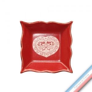Collection MEGEVE - Vide poche carre - 12 x 12 cm -  Lot de 1