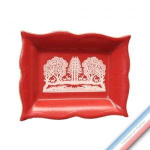 Collection MEGEVE - Vide poche rectangle - 21 x 17 cm -  Lot de 1