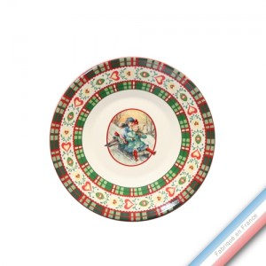 Collection SAINT PETERSBOURG - Assiette à pain - Diam  15.5 cm -  Lot de 4