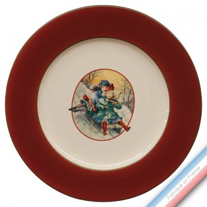 Collection SAINT PETERSBOURG - Plat plat - Diam  31.5 cm -  Lot de 1