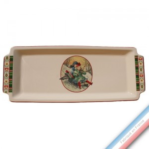 Collection SAINT PETERSBOURG - Plat cake - 38 x 15 cm -  Lot de 1