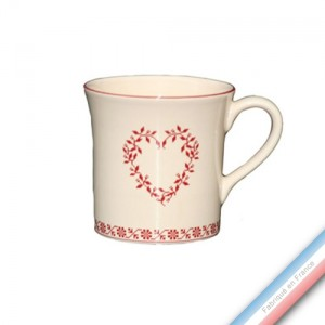 Collection TENDRE ROUGE - Mug - 0,35 L -  Lot de 4