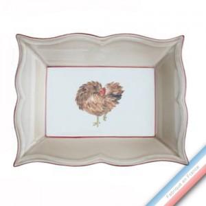 Collection BOCAGE - Vide poche rectangle - 21 x 17 cm -  Lot de 1