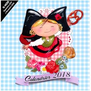 "Calendrier 2018 ""Lulu l'Alsacienne"" (30cm x 30cm)"